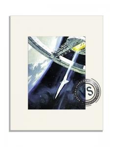 """Extrait de l'affiche """"2001, l'odyssée de l'espace"""""""