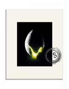 """Extrait de l'affiche """"Alien, le huitieme passager"""""""