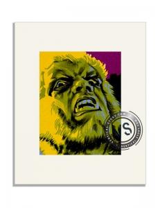 """Extrait de l'affiche """"la nuit du loup garou"""""""