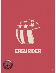 "EASY RIDER - ""1 FILM, 1 SYMBOLE"" par JEFF"