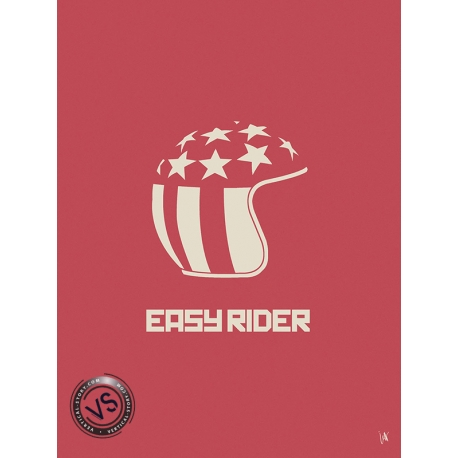 "EASY RIDER - ""1 FILM, 1 SYMBOLE"" par JEFF"