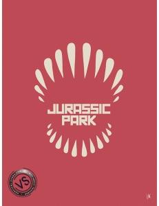 "JURASSIC PARK - ""1 FILM, 1 SYMBOLE"" par JEFF"
