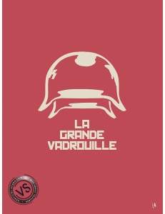 "LA GRANDE VADROUILLE - ""1 FILM, 1 SYMBOLE"" par JEFF"