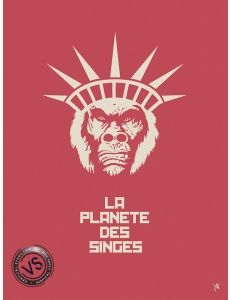 """LA PLANETE DES SINGES - """"1 FILM, 1 SYMBOLE"""" par JEFF"""