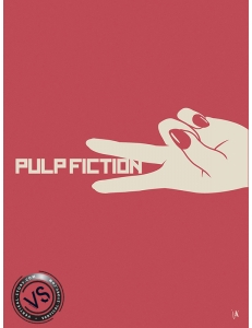 "PULP FICTION - ""1 FILM, 1 SYMBOLE"" par JEFF"