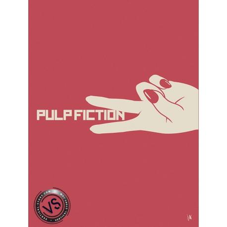 """PULP FICTION - """"1 FILM, 1 SYMBOLE"""" par JEFF"""