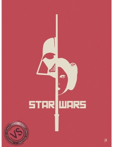 "STAR WARS - ""1 FILM, 1 SYMBOLE"" par JEFF"