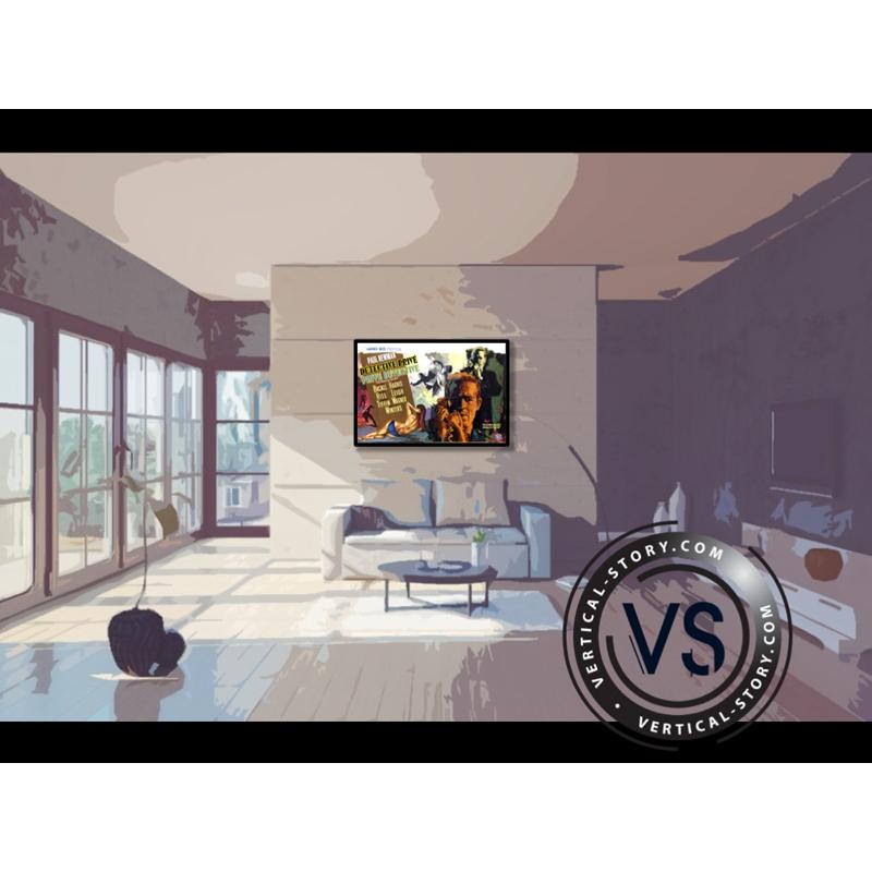 affiche du film d tective priv vertical story. Black Bedroom Furniture Sets. Home Design Ideas