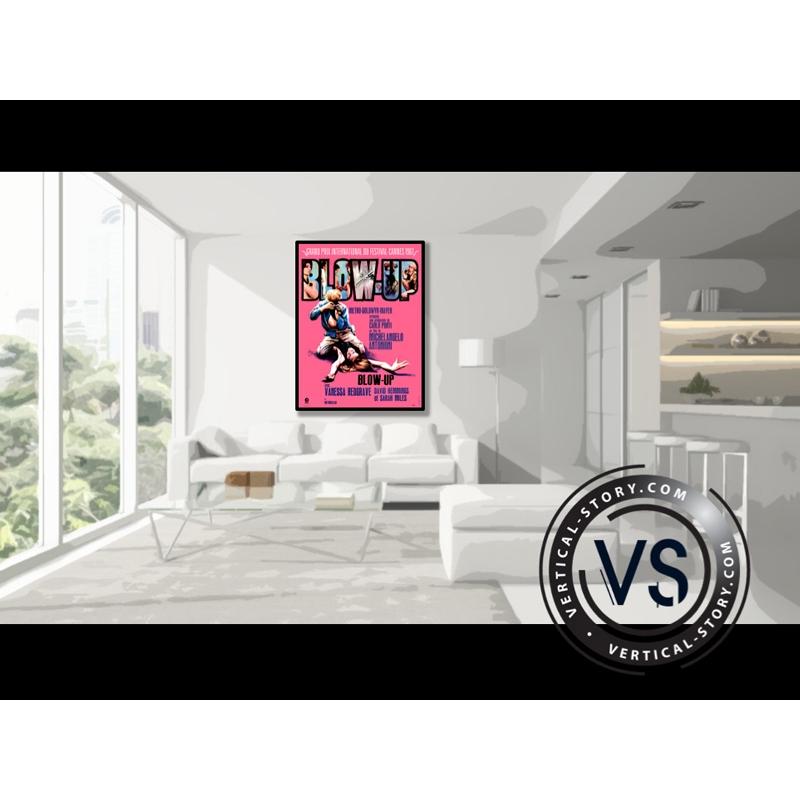 affiche du film blow up vertical story. Black Bedroom Furniture Sets. Home Design Ideas