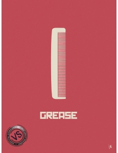 "GREASE - ""1 FILM, 1 SYMBOLE"" par JEFF"
