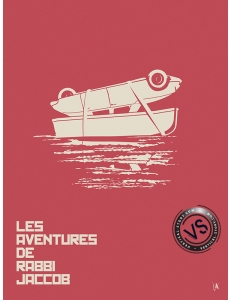 "LES AVENTURES DE RABBI JACOB - ""1 FILM, 1 SYMBOLE"" par JEFF"